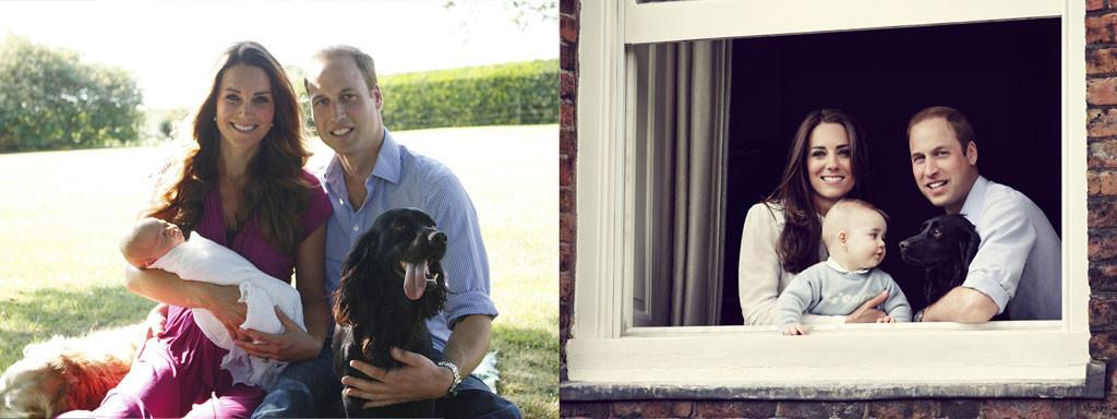 Prince George, Prince William, Kate Middleton, Lupo