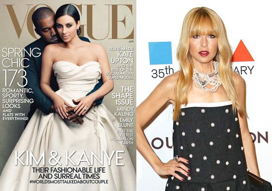 Kim Kardashian, Kanye West, Vogue, Rachel Zoe