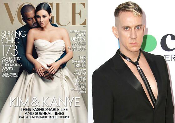 Kim Kardashian, Kanye West, Vogue, Jeremy Scott