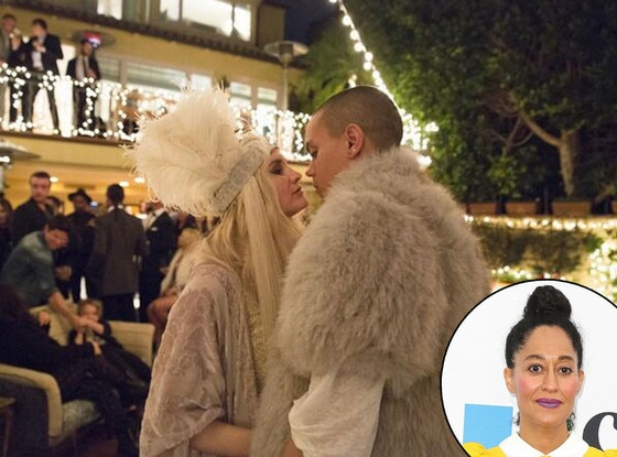 Ashlee Simpson, Evan Ross, Twitter, Tracee Ellis Ross