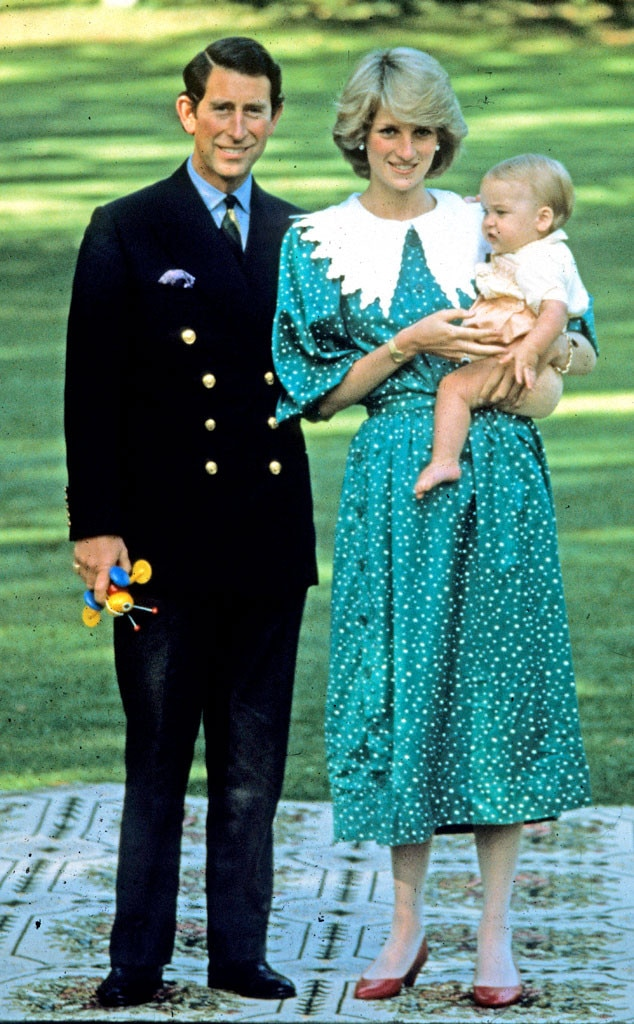 Prince Charles, Princess Diana, Prince William