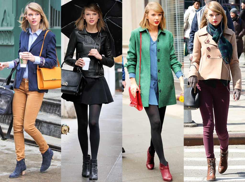 Taylor Swift S Nyc Street Style Which Look Is Your Fave