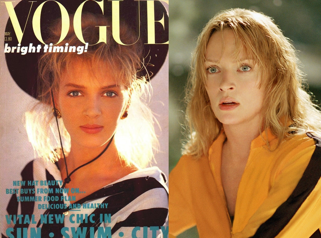 Uma Thurman, Vogue, Kill Bill