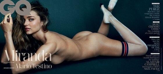 Miranda Kerr, British GQ