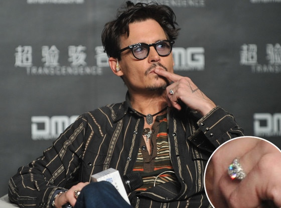 Johnny Depp, Ring