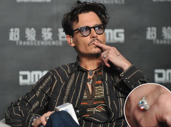 Johnny Depp, Ring