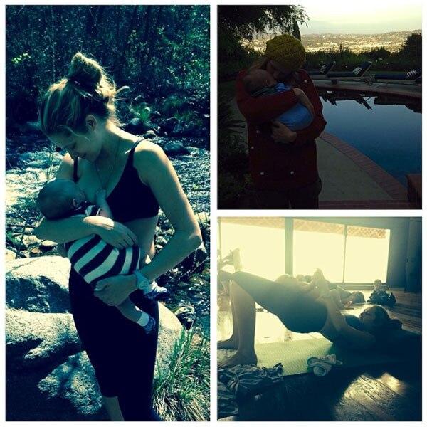 Teresa Palmer, Instagram, Breastfeeding
