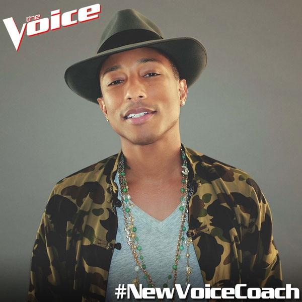 Pharrell, The Voice