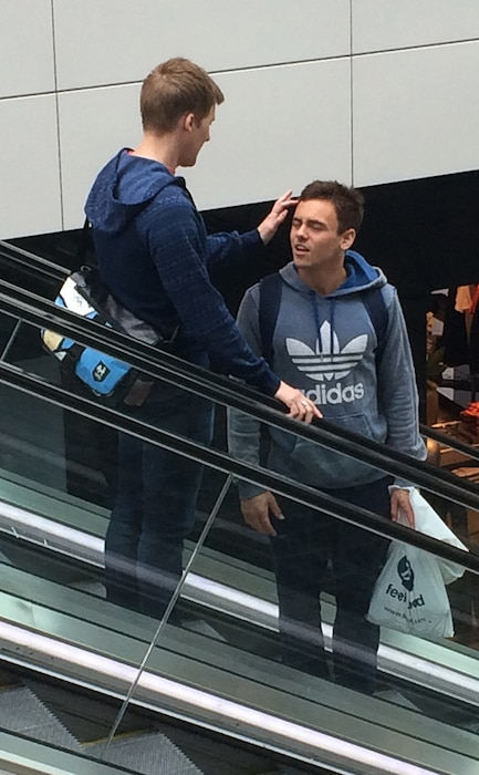 Tom Daley, Dustin Lance Black