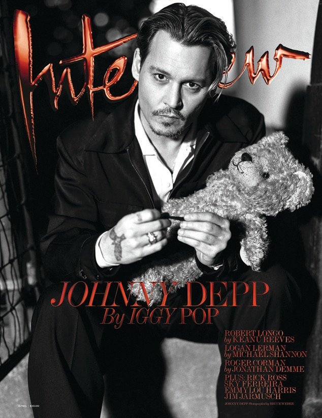 Johnny Depp, Interview Magazine