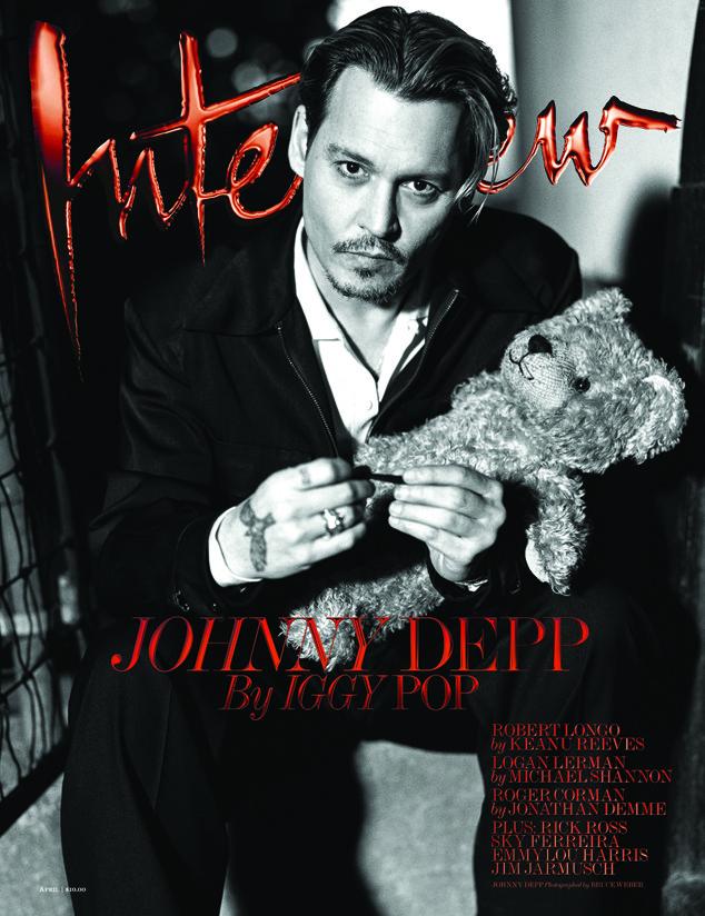 Johnny Depp, Interview Magazine