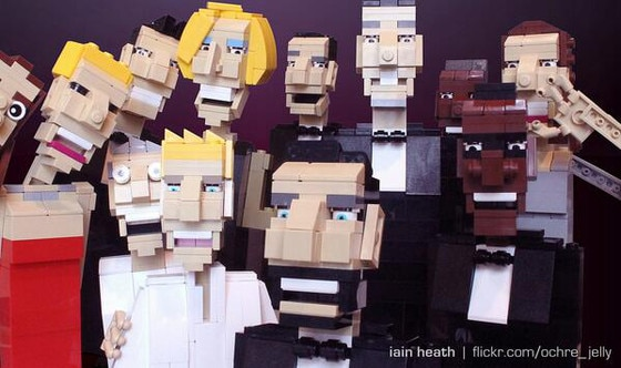 Ellen Selfie Recreations, Lego