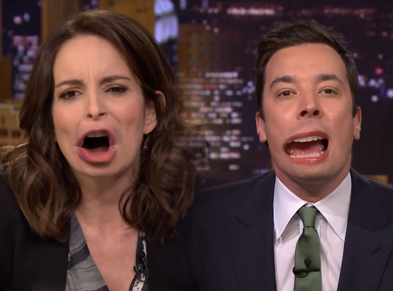 Tina Fey, Jimmy Fallon, Tonight Show