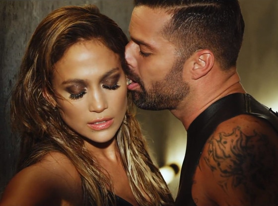 Wisin Music Video, Jennifer Lopez, Ricky Martin