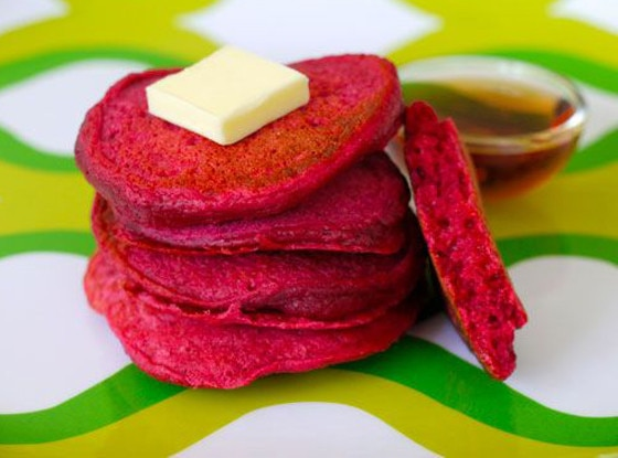 Purple Beet, Pancakes