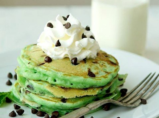 Mint Chocolate Chip, Pancakes