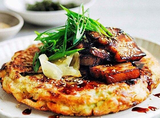 Okonomiyaki, Pancakes