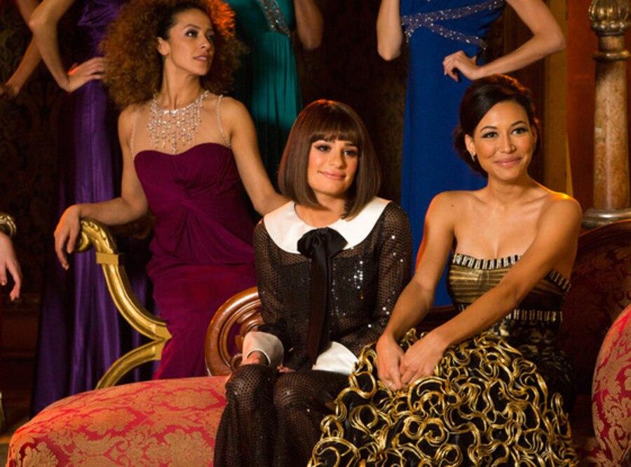 GLEE, Naya Rivera, Lea Michele