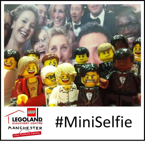 Ellen Selfie Recreations, Legoland Manchester