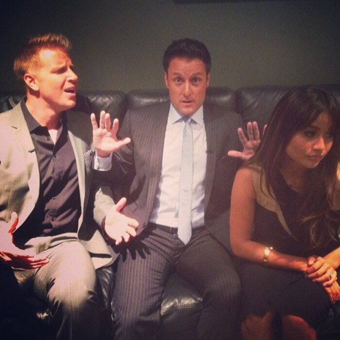 Sean Lowe, Chris Harrison, Catherine Giudici