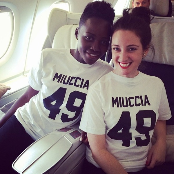 Lupita Nyong'o, Micaela Erlanger, Instagram