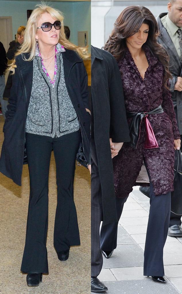 Dina Lohan, Teresa Giudice