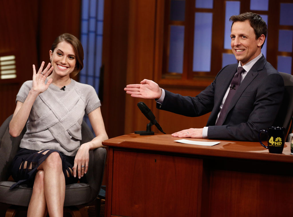 Allison Williams, Late Night With Seth Meyers