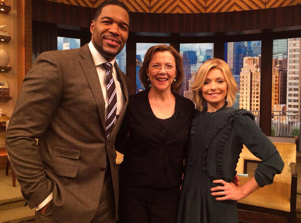 Annette Benning, LIVE with Kelly and Michael