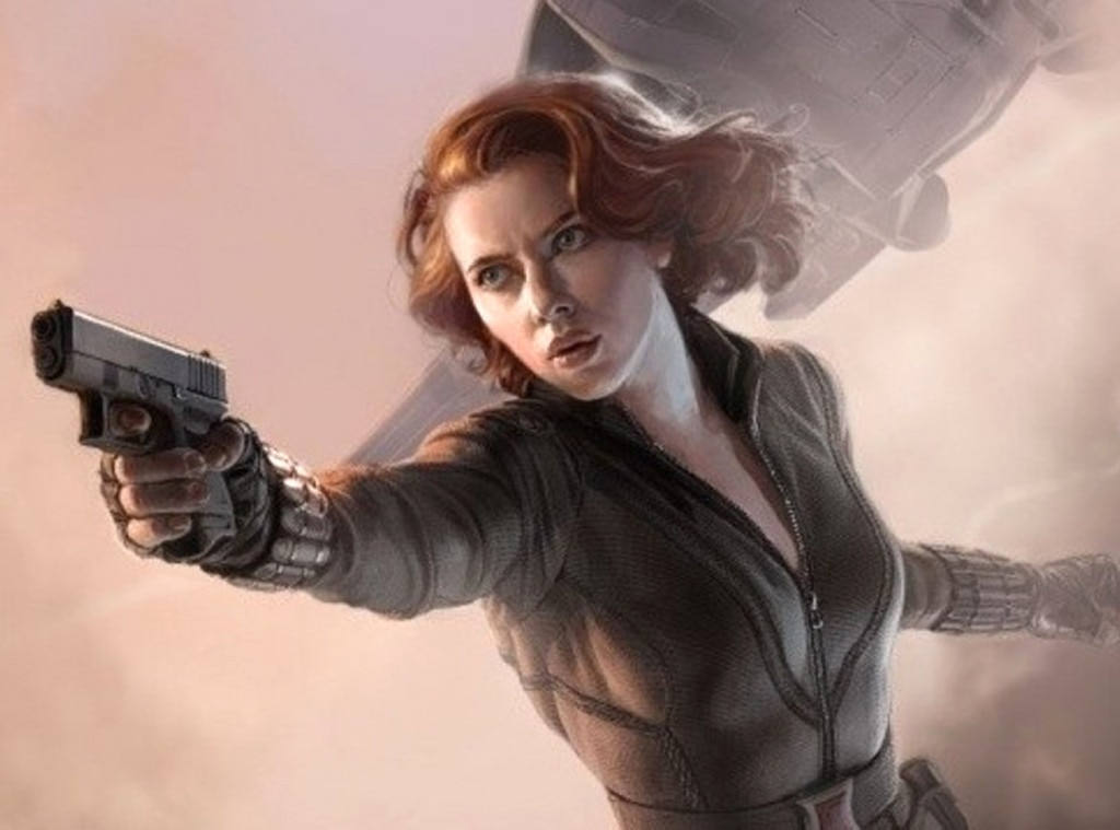 Black Widow, The Avengers, Scarlett Johansson, Famous Movie Heroines