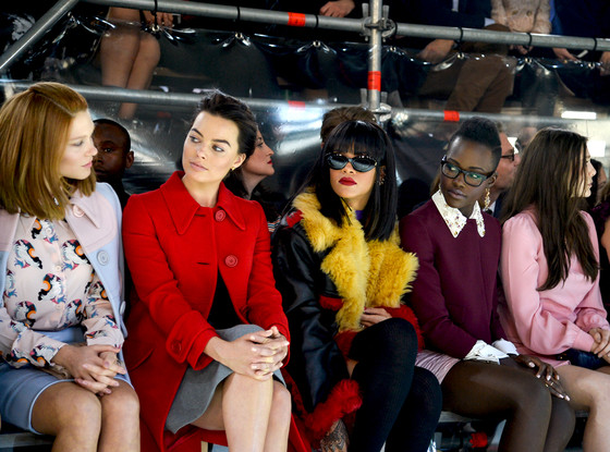 Lea Seydoux, Margot Robbie, Rihanna, Lupita Nyong'o, Elizabeth Olsen, Miu Miu