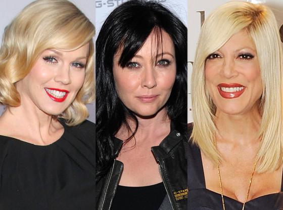 Jennie Garth, Shannen Doherty, Tori Spelling,