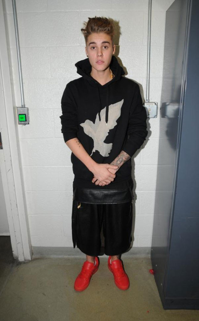 Justin Bieber, Tattoos, Jail