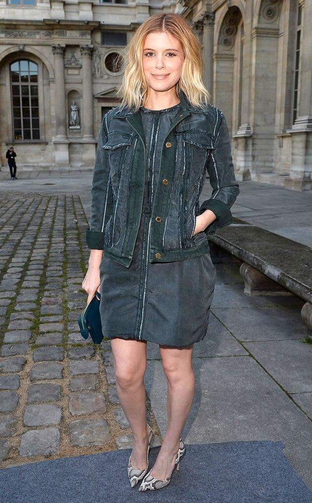 Kate Mara, Paris Fashion Week