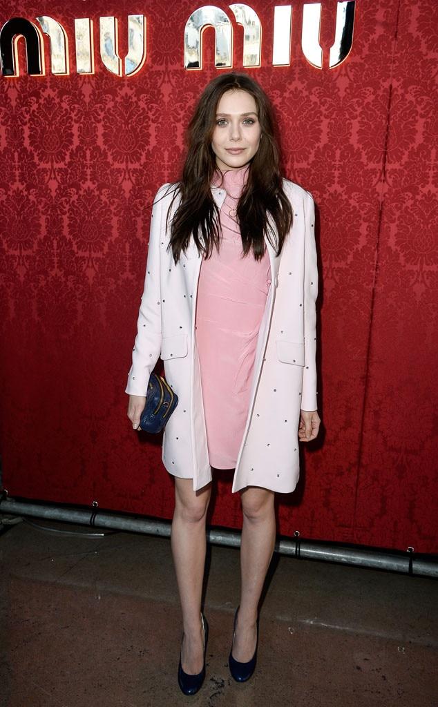 Elizabeth Olsen, Paris Fashion Week