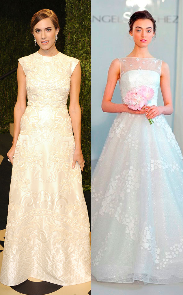 Allison Williams, Celeb Wedding Dress Predictions Gallery