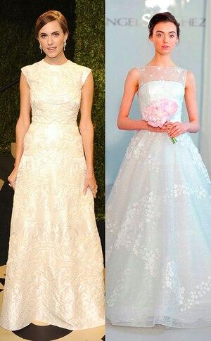 Allison Williams, Celeb Wedding Dress Predictions Gallery