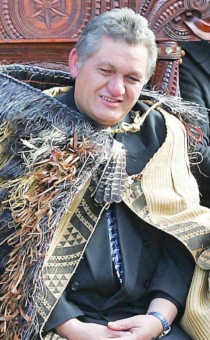 New Zealand Maori King Tuheitia