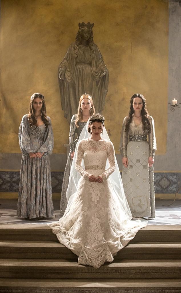 Reign, Caitlin Stasey, Celina Sinden, Adelaide Kane, Anna Popplewell