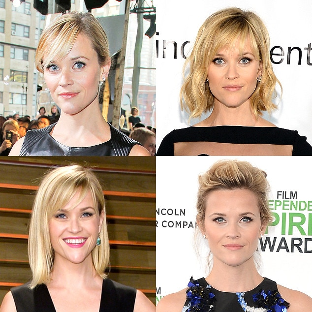 Spring Haircuts, Reese Witherspoon
