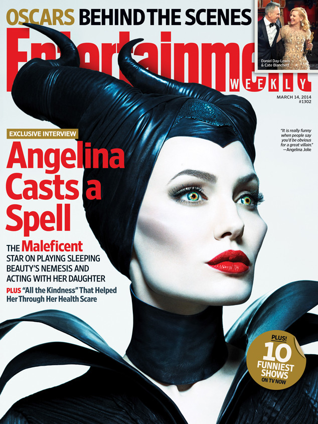 Angelina Jolie, Entertainment Weekly