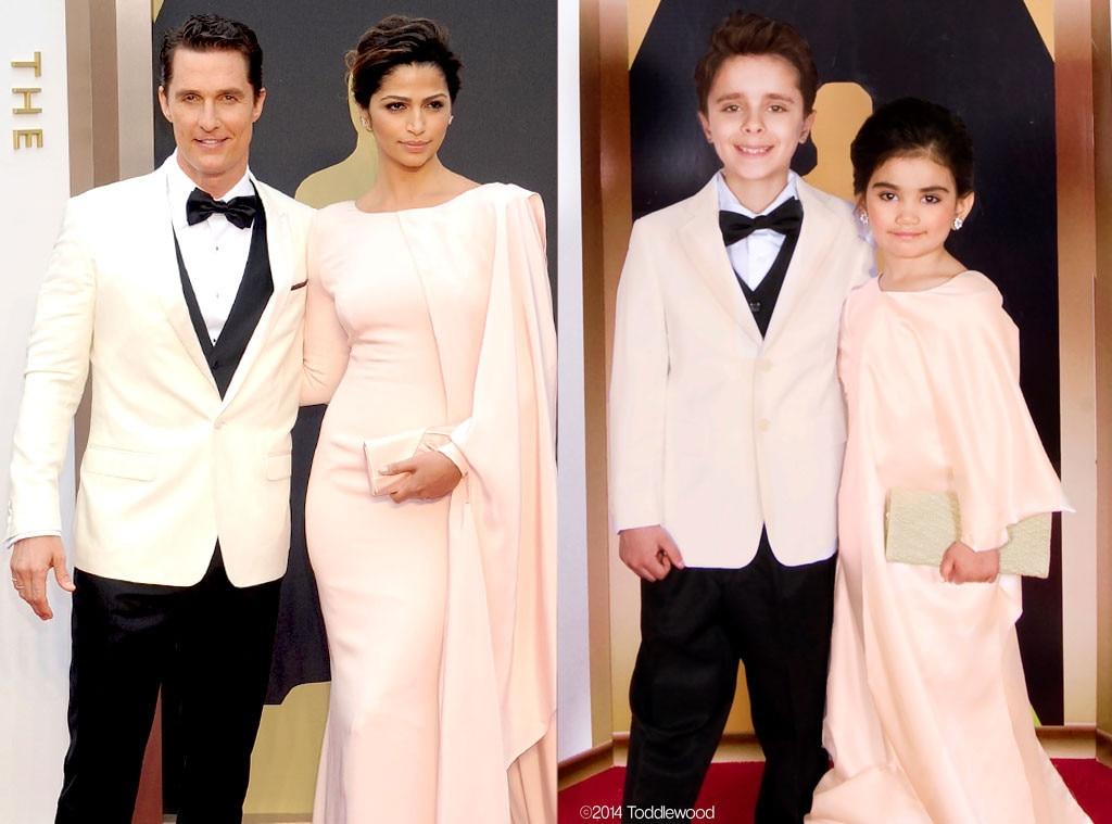 Matthew McConaughey, Camila Alves, Toddlewood