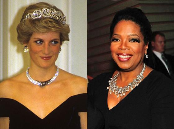 Princess Diana, Oprah Winfrey