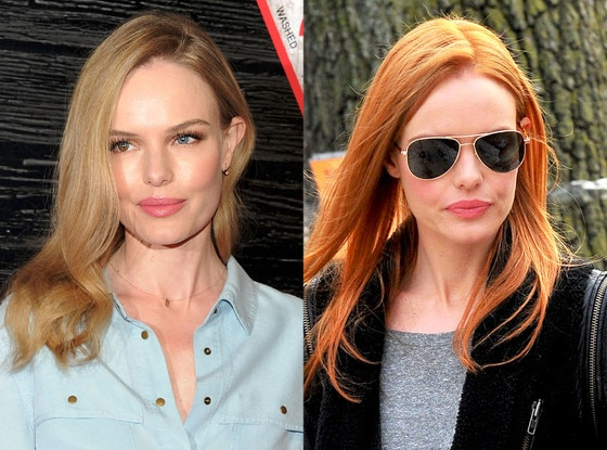 Kate Bosworth, Hair, Blonde, Red