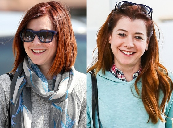 Alyson Hannigan, Hair