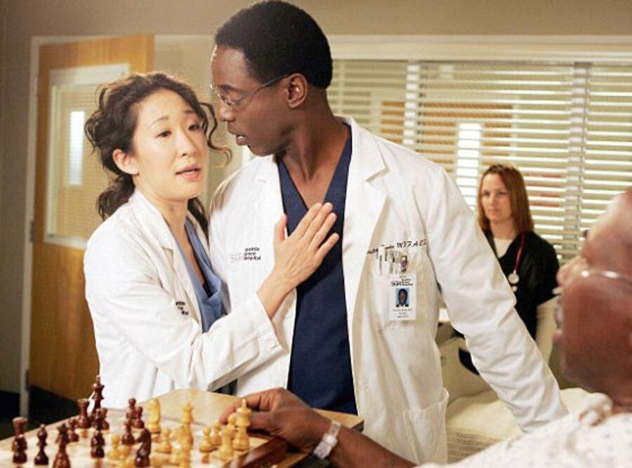 Isaiah Washington, Sandra Oh, Grey's Anatomy