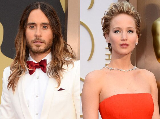 Jared Leto, Jennifer Lawrence