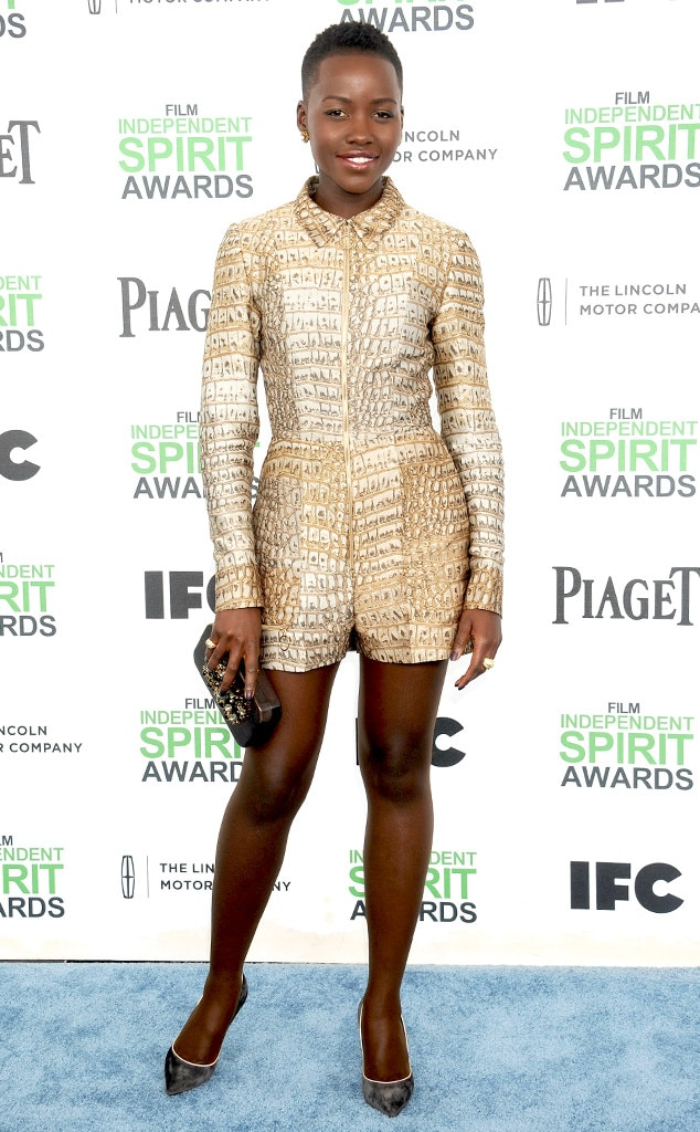 Lupita Nyongo, Film Independent Spirit Awards, Romper
