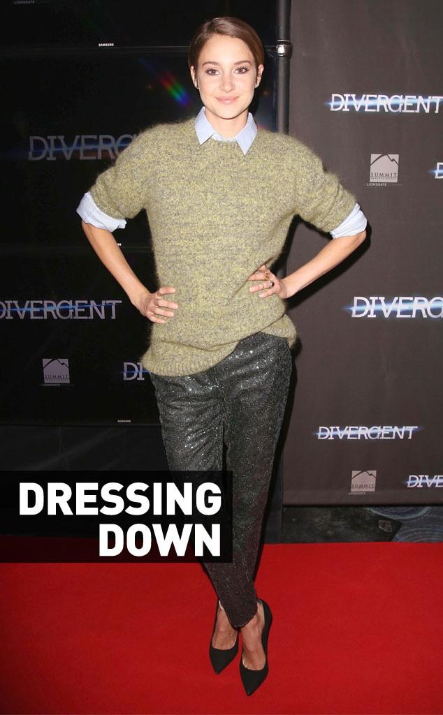 Shailene Woodley From Fashion Police