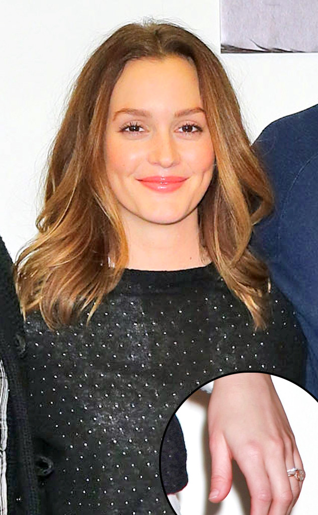 Leighton Meester (Finally!) Flashes Wedding Ring for First ...