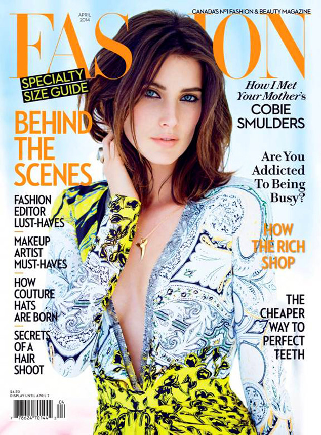 Cobie Smulders, Fashion Magazine